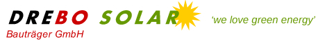 DREBO Bauträger GmbH Photovoltaikanlagen Planung, Montage u. Service