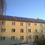 2 Mehrfamilienhäuser à 25kwp in Dohna bei Dresden
