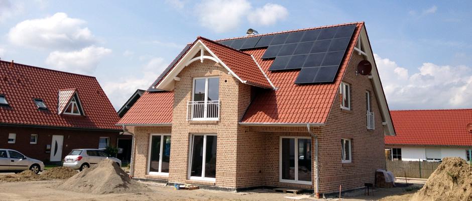 Referenzen Einfamilienhäuser im Bereich 3 - 10kwp
