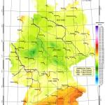 Sonneneinstrahlung Deutschland 3013